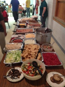 Mexican night at Ascension Lutheran