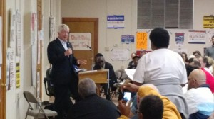Question and answer with Mark Herring, Attorney General of Virginia, at the Virginia Organizing Grassroots Gathering, where a few Grace and Main folks went to participate