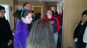 At the House Blessing of the new Hospitality House donated by Ascension Lutheran