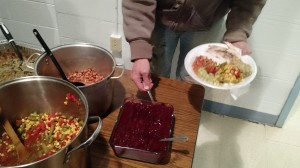 Some of this year's Thanksgiving feast